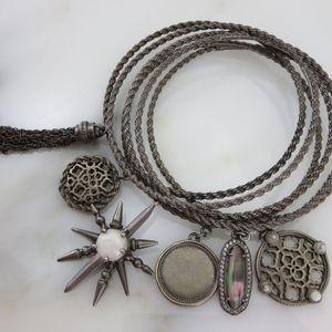 Kendra Scott 6pc Charm Bangle Bracelet Set